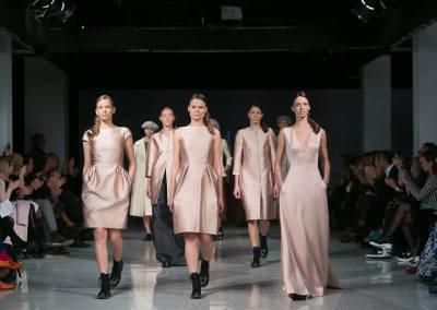 Pohjanheimo Couture @ Riga Fashion Week 2014 / Meik: Katrin Sangla & Lydia Feodora Jakson / Juuksed: Tamara Korjagina